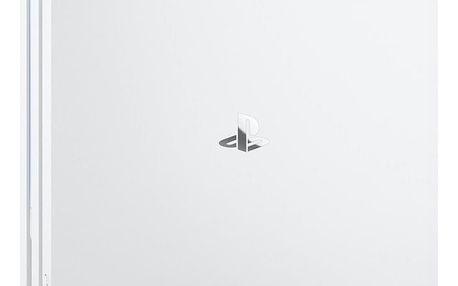 Herní konzole Sony PlayStation 4 Pro 1TB bílá (PS719790914)