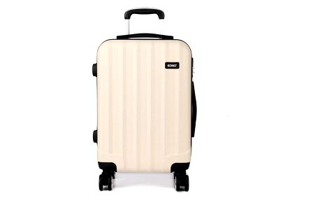 Cestovní střední béžový kufr Trip 1773