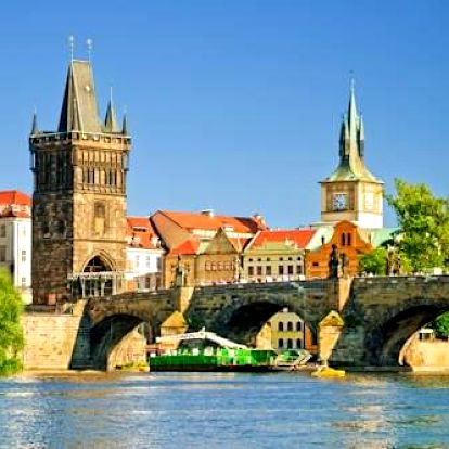 Skvělé atrakce v zimní Praze si vychutnáte při pobytu v centru v 4 * hotelu Seifert