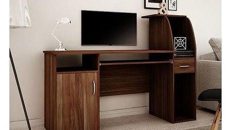 Počítačový stůl RESET Švestka wallis