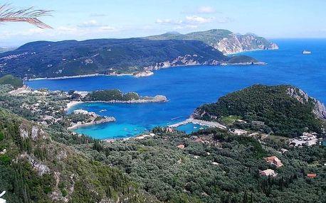 Korfu a Albánie - letecky, Korfu