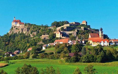 Skvosty Štýrska a Burgenlandska + termální lázně Bük, Dolní Rakousko