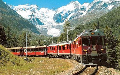 Švýcarsko s výletem horským expresem, Engadin - St. Moritz