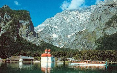 Rakouské a německé Alpy + Salzburg, Bavorské Alpy
