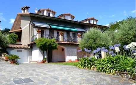 Pobyt v Toskánsku v rodinné vile La Pippola pro dva a dítě do 10 let
