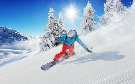 Kurz Snowboardingu v Krušných horách včetně skipasu