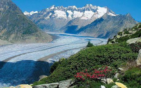Alpská tour - nejkrásnější partie Alp pěti zemí, Valais