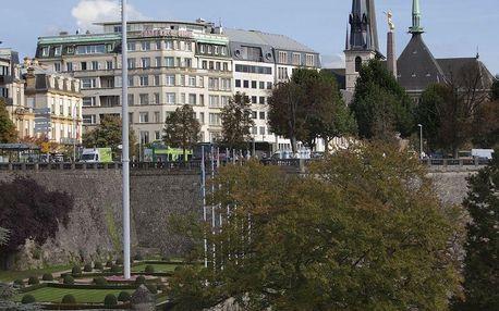 Krásný víkendový pobyt v historickém Lucemburku - dlouhá platnost poukazu