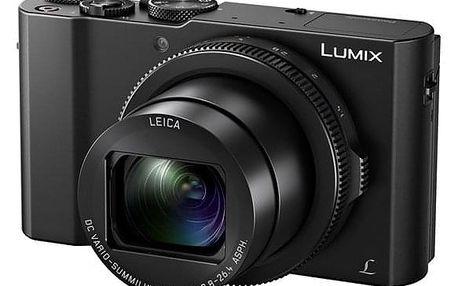 Digitální fotoaparát Panasonic Lumix DMC-LX15 černý (DMC-LX15EP-K)