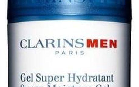 Clarins Men Super Moisture Gel 50 ml osvěžující hydratační gel tester pro muže
