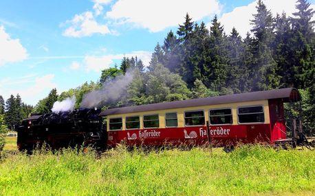 Pohoří Harz - malebná příroda i romantická městečka, Sasko-Anhaltsko
