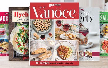 Vánoční balíček 5 speciálů časopisu Gurmet