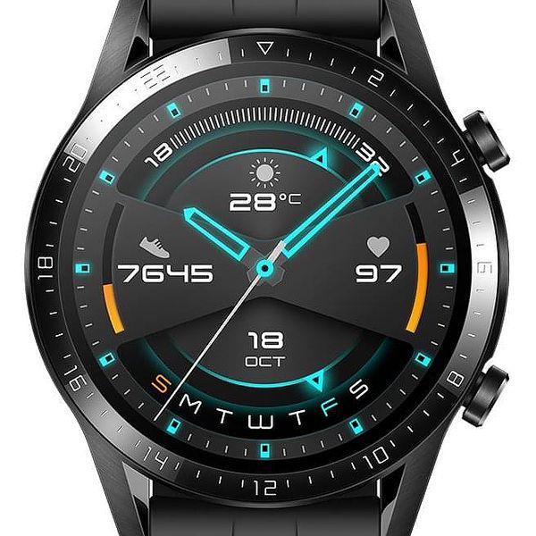 Chytré hodinky Huawei Watch GT 2 (46 mm) (55024474) černé + DOPRAVA ZDARMA2