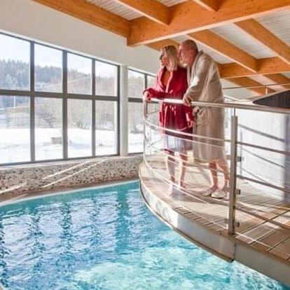 Podzimní Beskydy: Sport Art Centrum Hotel **** u Pusteven s polopenzí + výhody