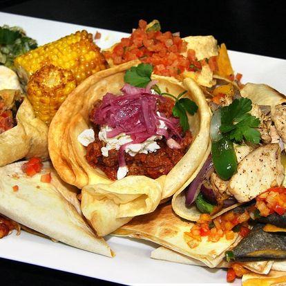 Mexické 3chodové menu v Pepe Lopez pro dva