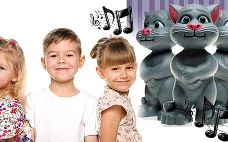 AKCE! Mluvící kocour Talking Tom - Interaktivní hračka Velikost: Menší (25 cm)