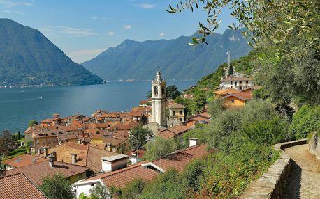 Jezerní a horské perly Itálie a Švýcarska, Lombardie - 6 dní se snídaní