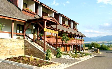 Liptov v hotelu v podhůří Nízkých Tater s wellness a polopenzí + platnost do června 2020