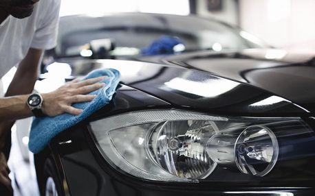 Ruční mytí interiéru nebo celého automobilu