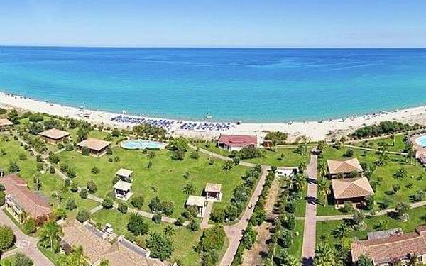 Garden Beach, Sardínie, letecky, plná penze3