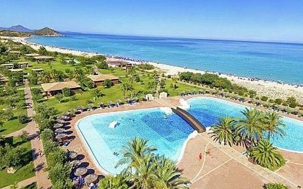 Garden Beach, Sardínie, letecky, plná penze4