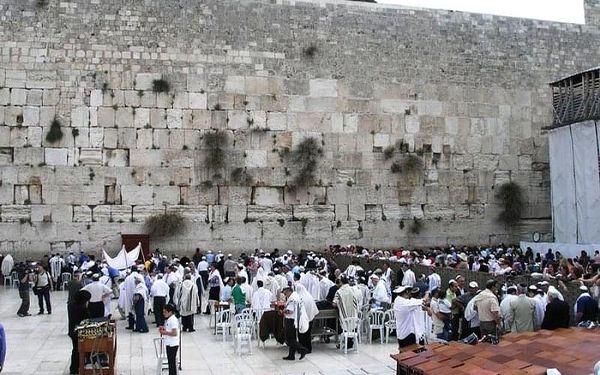 Izrael - okruh za biblickými památkami, Jeruzalém, letecky, polopenze5