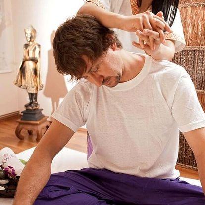 Thajská masáž pro workoholiky