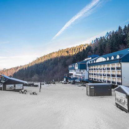 Zima s lyžovačkou a wellness v Hotelu Plejsy***