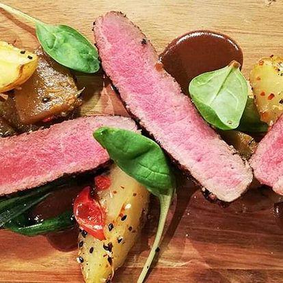 3hodinový kurz vaření Steak, burger & křídla
