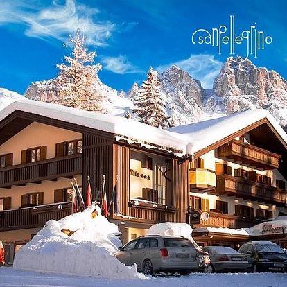 Itálie - Val di Fassa e Carezza na 5 dní, polopenze s dopravou autobusem, Val di Fassa e Carezza