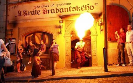 Pravá středověká hostina s all inclusive konzumací