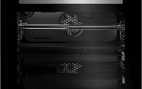 Trouba Beko BVR 35500 XMS černá/nerez
