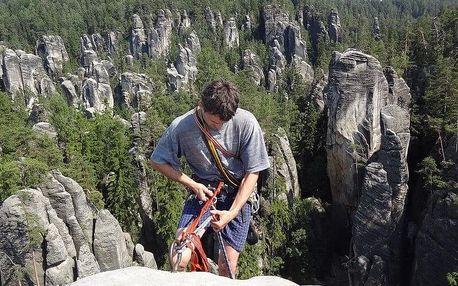 Kurz skalního lezení s výstupem na skalní věž