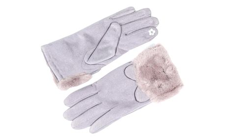 Delfin Dámské rukavice teplé roztomilé kočky