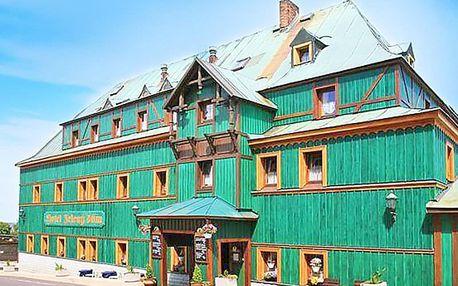 Krušné hory v hotelu s polopenzí a zapůjčením holí Nordic walking + termíny do června 2020