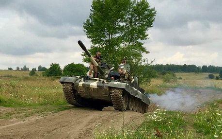 Projížďka v bojovém tanku