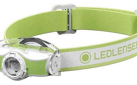 Čelovka LEDLENSER MH3 zelená (501593)