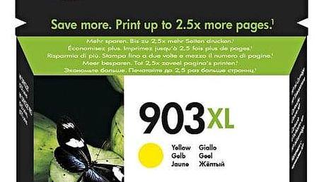 Inkoustová náplň HP 903XL, 825 stran žlutá (T6M11AE#BGY)
