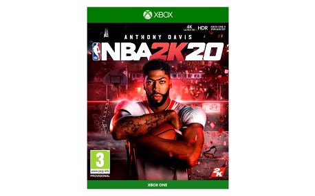 2K Games Xbox One NBA 2K20 (5026555362023)