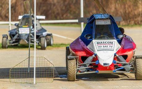 Autocrossový den - 20 kol na závodní trati