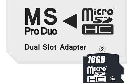 Connect IT CI-1138, MS Pro Duo - 2x MicroSDHC (CI-1138)