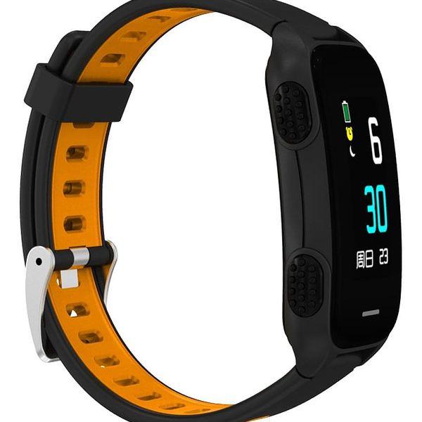 Fitness náramek CUBE 1 LY116 (NEOSCULY11650) černý/oranžový3