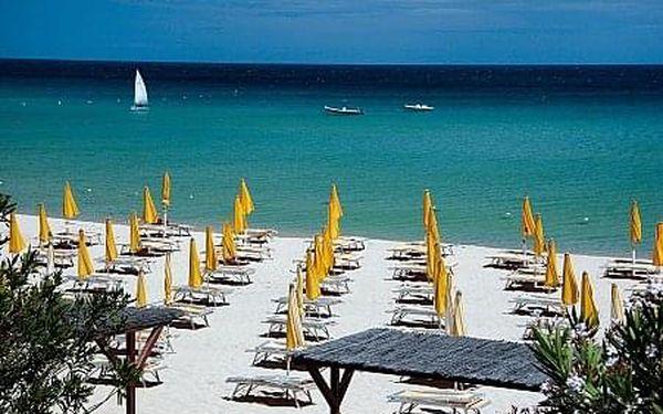 Free Beach, Sardínie, letecky, plná penze2