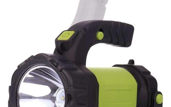 Svítilna EMOS LED P4526, 5W CREE + COB LED (1450000250) černá/zelená2