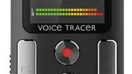 Diktafon Philips DVT2510 černý + dárek Sluchátka Philips SHE2405 černá v hodnotě 399 Kč