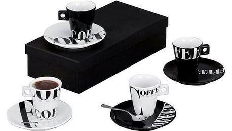 Sada na espresso COFFEE STYLE, 8 dílů, ZELLER