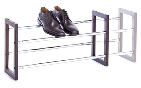 Kovový stojan na boty, 63-116x34 cm, ZELLER