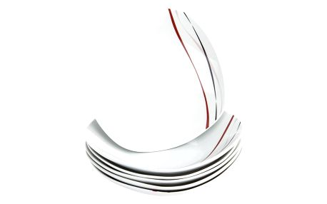 Domestic 6dílná sada hlubokých talířů Amelie, 21,5 cm