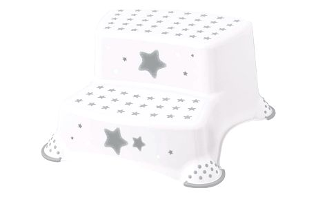 Keeeper Dětská stolička -Stars bílá, 40 x 37 x 21 cm
