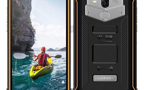 Mobilní telefon iGET Blackview GBV5800 černý/žlutý (84000437)